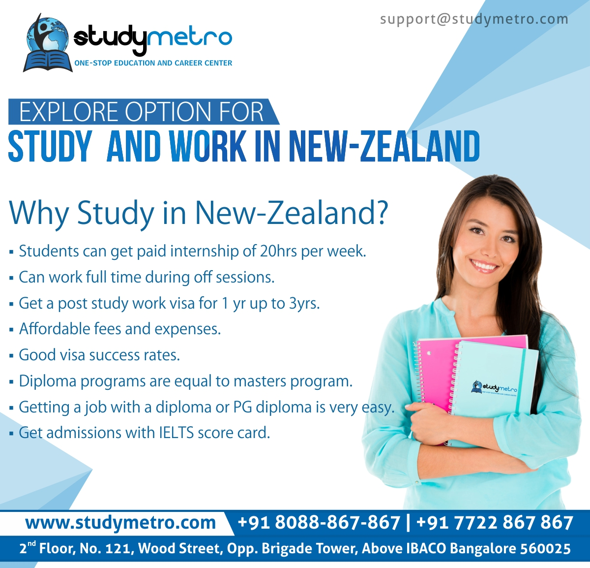 Study and Work in New Zealand | Study Metro